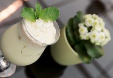 Creamy cocktail Stock Photos