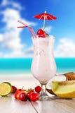 Creamy cocktail Stock Image