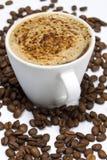 Creamy coffee Stock Images