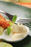Creamy condiment Stock Image