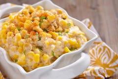 Creamy corn Stock Photo