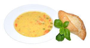 Creamy Country Vegetable Soup Stock Photos