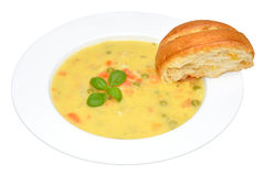 Creamy Country Vegetable Soup Royalty Free Stock Images