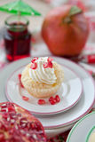 Creamy Cupcakes Stock Images