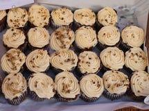 Creamy cupcakes Royalty Free Stock Image