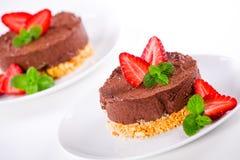 Creamy Dessert Stock Photo