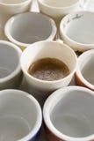 Creamy espresso coffee Royalty Free Stock Images