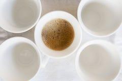 Creamy espresso coffee Stock Image