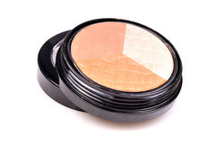 Creamy eye shadow kit royalty free stock photography
