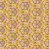 Creamy flower pattern Royalty Free Stock Photos