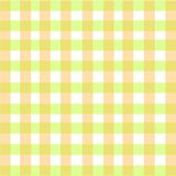 Creamy Green Plaid Background Stock Photography