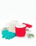 Creamy Hot Chocolate Portrait Stock Photo