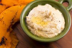 Creamy hummus Royalty Free Stock Image