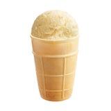 Creamy ice cream stock images
