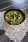 Creamy lentil soup Stock Photos