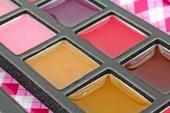 Creamy Lip Gloss at an Angle Stock Photo