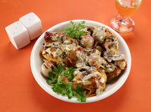 Creamy Mushroom Chicken Stock Photography