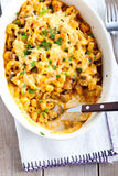 Creamy pasta Stock Photo