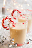 Creamy Peppermint Punch Stock Photography