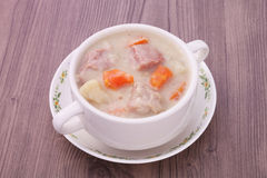 Creamy pork stew Royalty Free Stock Photography