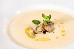 Creamy potato soup Stock Image