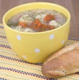 Creamy potato soup Royalty Free Stock Photo