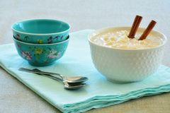 Creamy rice pudding Royalty Free Stock Images