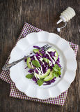 Creamy slaw. Cabbage salad Royalty Free Stock Images