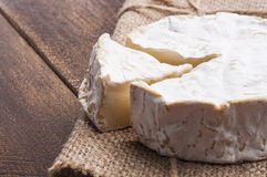 Creamy soft camembert cheese Royalty Free Stock Photography