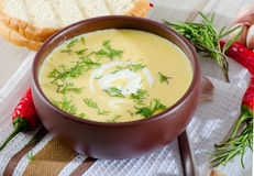 Creamy soup Royalty Free Stock Photos