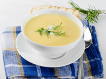 Creamy soup Royalty Free Stock Photography
