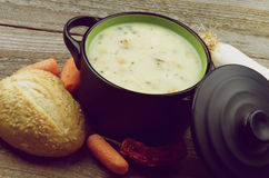 Creamy Soup Royalty Free Stock Images