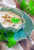 Creamy soup puree Stock Photo