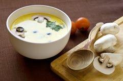 Creamy soupe Stock Image