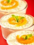 Creamy Tahini Dessert Stock Image