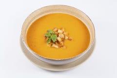 Creamy tomato soup Stock Photos