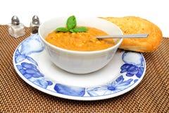 Creamy Vegetable Soup Stock Photo