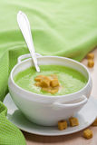 Creamy vegetable soup Royalty Free Stock Photos