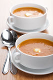 Creamy vegetable soup Stock Images