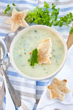 Creamy vegetable soup Royalty Free Stock Image