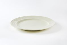 Creamy white plate Royalty Free Stock Photos