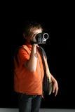 Crear una película casera Imagen de archivo libre de regalías