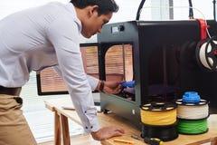 Creare le figure 3D Fotografie Stock