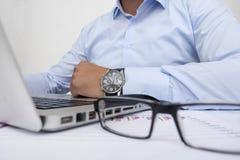 Creare un business plan Fotografia Stock