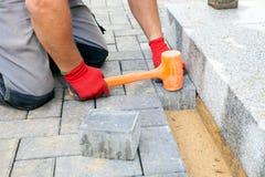 Creare una pavimentazione Fine in su Immagine Stock Libera da Diritti