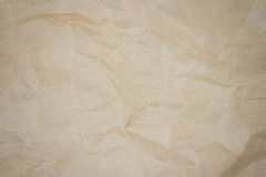 Crease brown paper Royalty Free Stock Photo
