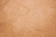 Crease brown paper Royalty Free Stock Photography