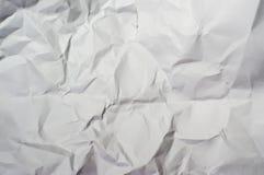 Crease paper. Crease white paper stock photo