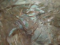 Crease of wet plastic stock photo