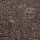 Creased brown cloth material fragment. As a background texture composition Royalty Free Stock Photography